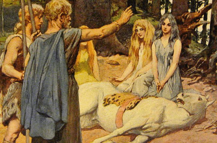 History of Odin