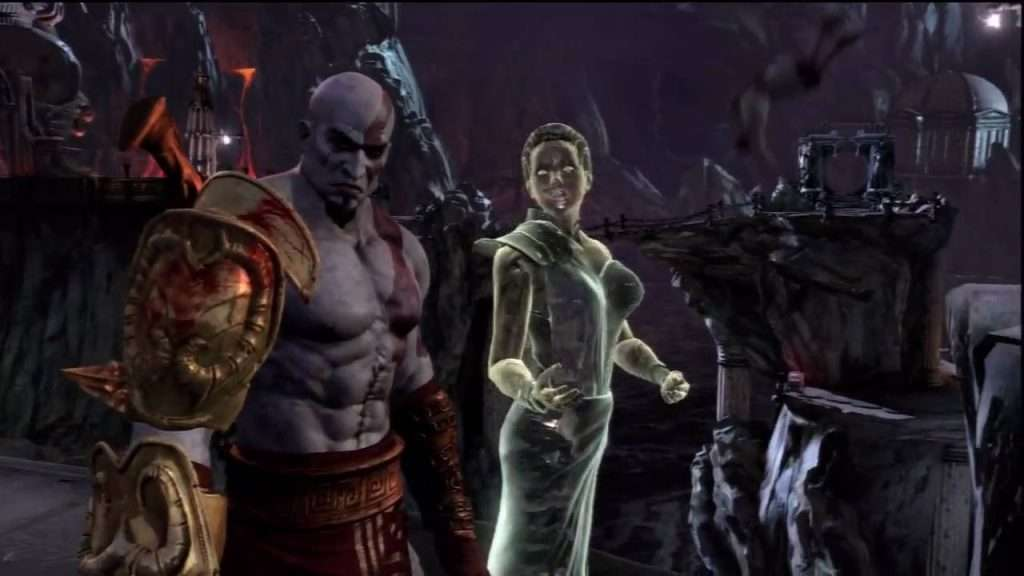Athena in god of war 3