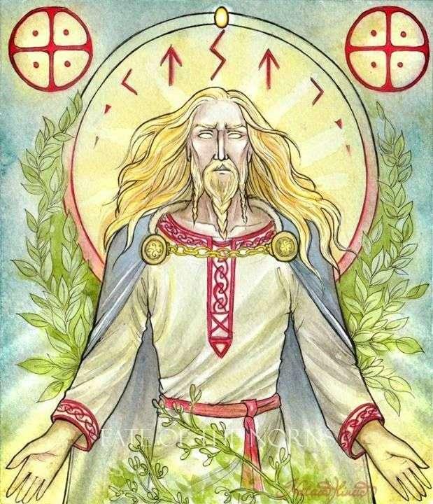 Baldur Norse God