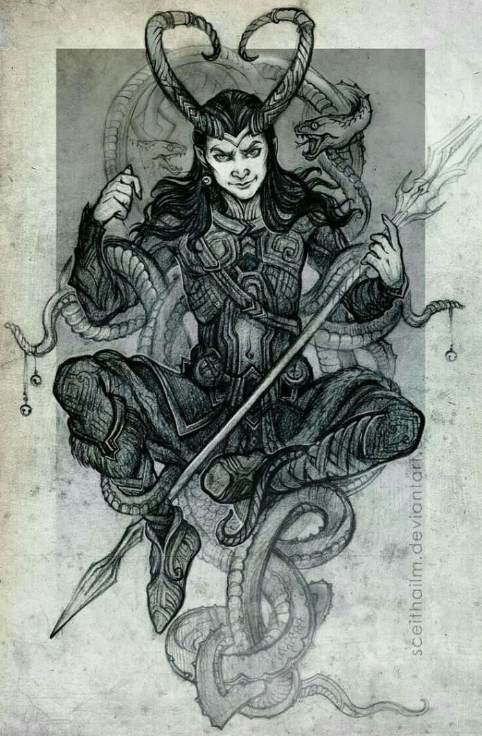 loki the Norse God